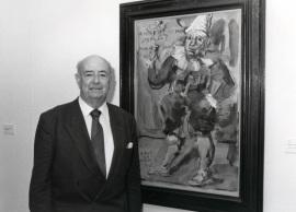 Julián Gállego. Conferencia sobre Los tres grandes temas de Georges Rouault. Conferencia inaugural dentro del ciclo En torno a Rouault , 1995