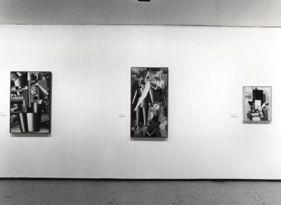 Vista parcial de la exposición Malevich Colección del Museo Estatal Ruso, San Petersburgo