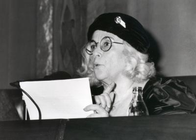Carmen Martín Gaite en Encuentros con Carmen Martín Gaite