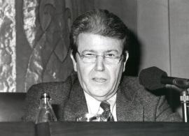 Jorge Erralde en Encuentros con Carmen Martín Gaite, 1995