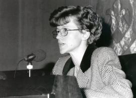 Maria Vittoria Calvi en Encuentros con Carmen Martín Gaite, 1995