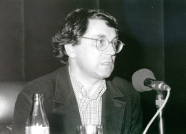 Andrés Trapiello. Conferencia sobre El odioso y yo. Vida y literatura dentro del ciclo El escritor de diarios , 1997