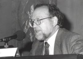 Reyes Mate. Conferencia sobre Mesa redonda - I SEMINARIO PÚBLICO Nuevo romanticismo: la actualidad del mito , 1997