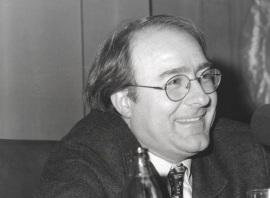 José Luis Villacañas. Conferencia sobre Mesa redonda - I SEMINARIO PÚBLICO Nuevo romanticismo: la actualidad del mito , 1997