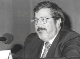 Félix Duque. Conferencia sobre Mesa redonda - I SEMINARIO PÚBLICO Nuevo romanticismo: la actualidad del mito , 1997