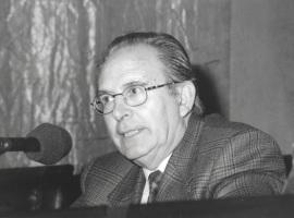 Pedro Cerezo Galán. Conferencia sobre Mesa redonda - I SEMINARIO PÚBLICO Nuevo romanticismo: la actualidad del mito , 1997
