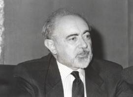 Carlos García Gual. Conferencia sobre Mesa redonda - I SEMINARIO PÚBLICO Nuevo romanticismo: la actualidad del mito , 1997