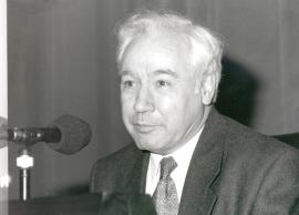 Alfonso Pérez Sánchez en el ciclo sobre Felipe II y las artes, 1998