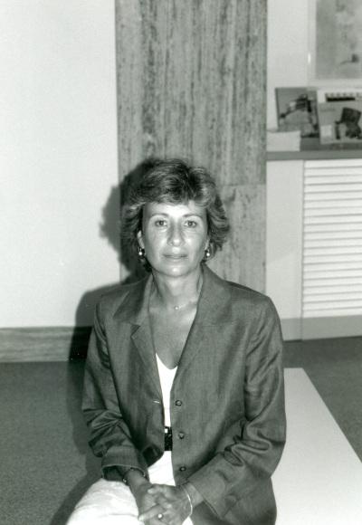 Teresa Ocaña en la conferencia inaugural de la exposición Suite Vollard, de Picasso