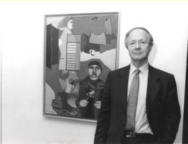 Werner Spies. Exposición Richard Lindner, 1998