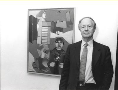 Werner Spies. Exposición Richard Lindner