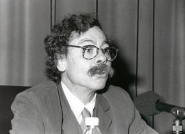 Alberto Corazón. Conferencia sobre Lindner, el geómetra ambiguo dentro del ciclo Cuatro lecciones sobre Richard Lindner , 1998