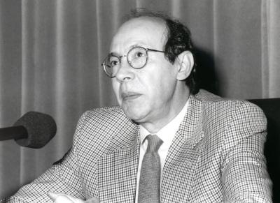 Francisco Rico. Conferencia sobre Literatura y nueva sociedad dentro del ciclo El primer siglo de la literatura española