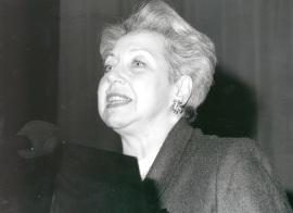 Sylvie Forestier. Conferencia sobre El país que se encuentra en mi alma.... Conferencia inaugural de la Exposición Marc Chagall: tradiciones judías , 1999