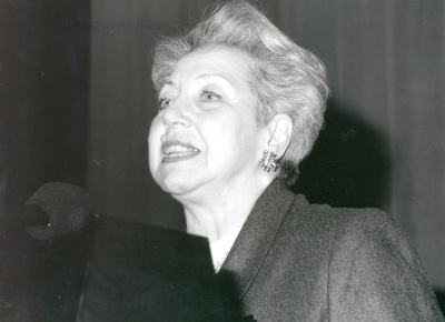 Sylvie Forestier. Conferencia sobre El país que se encuentra en mi alma.... Conferencia inaugural de la Exposición Marc Chagall: tradiciones judías