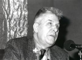 Leopoldo Azancot. Conferencia sobre Marc Chagall: Una vida judía dentro del ciclo Marc Chagall: Tradiciones judías , 1999