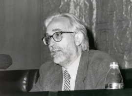 José María González García. Conferencia sobre Géneros literarios y géneros filosóficos: una frontera permeable - IV SEMINARIO PÚBLICO Literatura y Filosofía en la crisis de los géneros , 1999