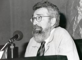 Patricio Peñalver. Conferencia sobre Géneros literarios y géneros filosóficos: una frontera permeable - IV SEMINARIO PÚBLICO Literatura y Filosofía en la crisis de los géneros , 1999