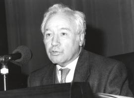 Alfonso Pérez Sánchez en el ciclo sobre Velázquez en su centenario, 1999