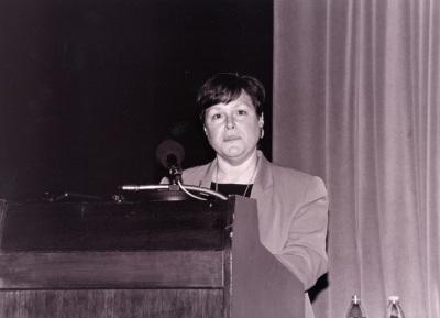 Lisa Messinger. Conferencia sobre Expresionismo abstracto: obra sobre papel. Conferencia inaugural de la Exposición Expresionismo abstracto: obra sobre papel (Colección del Metropolitam Museum of Art, Nueva York)