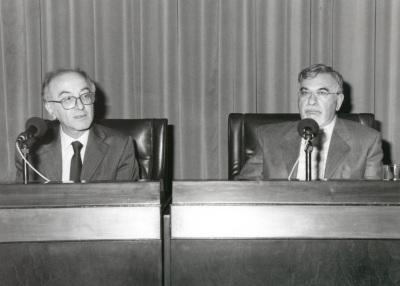 Luigi Ferrajoli y Fernando Quesada. Conferencia sobre Hacía un nuevo imaginario público - VII SEMINARIO PÚBLICO Cambio de paradigma en la filosofía política