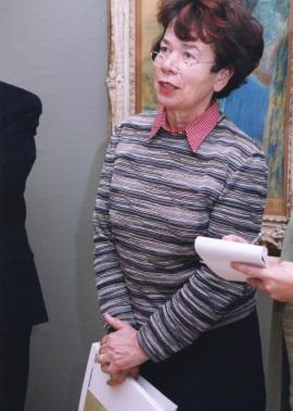 Sabine Fehlemann.Exposición De Caspar Friedrich a Picasso. Obras maestras sobre papel del Museo de Wuppertal, 2001