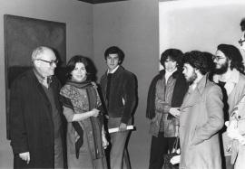 Fernando Zóbel. Exposición Arte USA, 1977