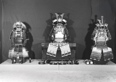 Vista parcial de la exposición Tesoros del arte japonés: Período Edo (1615-1868) Colección Museo Fuji. Tokyo