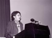Estrella de Diego. Conferencia sobre Irse: el viaje americano como exilio interior dentro del ciclo Georgia O'Keeffe y su tiempo , 2002