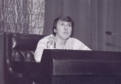 Paloma Díaz-Mas. Conferencia sobre La formación del mundo sefardí dentro del ciclo Los Sefardíes: Una cultura del exilio