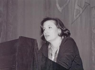 Helena Rodríguez Somolinos. Conferencia sobre La Lírica erótica: Safo dentro del ciclo Los grandes creadores de la Literatura Griega Clásica