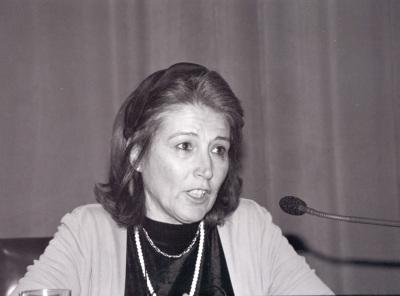 Mª Carmen Pérez Die. Conferencia sobre Excavaciones españolas en Enhasya Elmedina (Heracleópolis Magna, Egipto) dentro del ciclo Temas clásicos de Arqueología