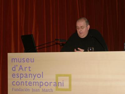 Fernando Castro conferencia inaugural de la exposición Lucio Múñoz íntimo