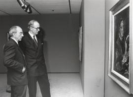 José Luis Yuste Grijalba y Richard Wotawa. Exposición Klimt, Kokoschka, Schiele Un sueño vienés (1898-1918), 1995
