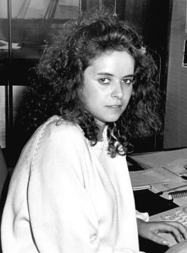 Jacqueline de la Fuente. Secretaría, 1987