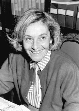 Ana Buenaventura. Profesora. Curso 1991-92, 1987