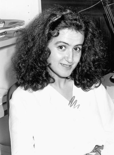 Susana Aguilar Fernández. Estudiante. Curso 1987-88