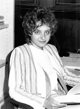 Patricia Salama Rodríguez. Estudiante. Curso 1987-88, 1987