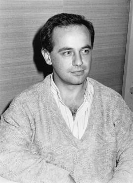 Pedro Luis Iriso Napal. Estudiante. Curso 1987-88, 1987