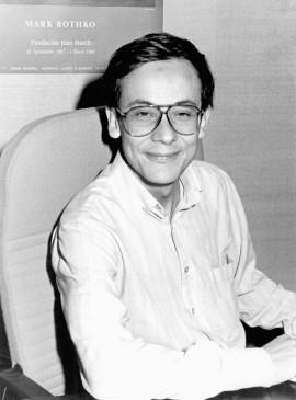 Modesto Escobar. Profesor de curso. Curso 1987-88, 1987