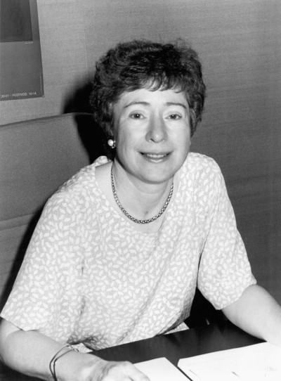 Suzanne Berger. Profesora. Curso 1987-88