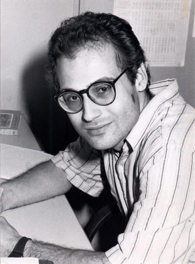 Roberto Garvía Soto. Estudiante. Curso 1988-89