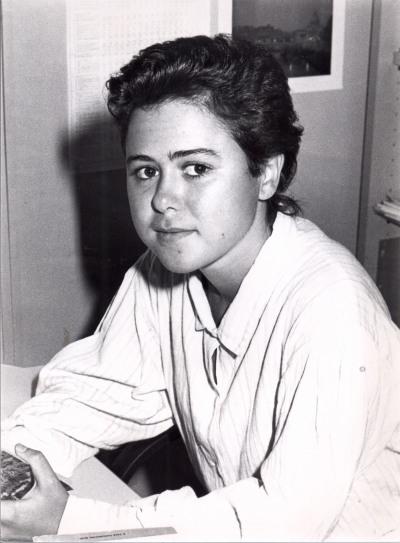 Paloma Aguilar Fernández. Estudiante. Curso 1988-89