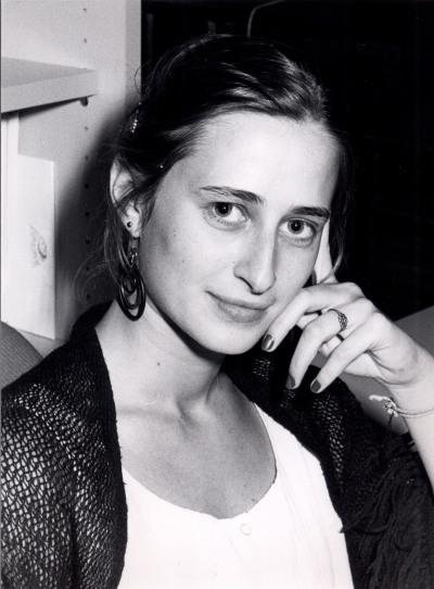 Helena Varela. Estudiante. Curso 1988-89
