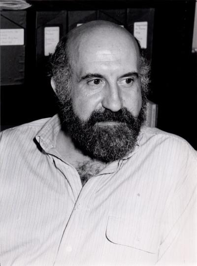 Fernando González Olivares. Profesor de seminario. Curso 1988-89
