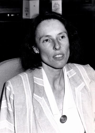 Rosemary Taylor. Profesora. Curso 1988-89