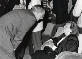 José Luis Yuste Grijalba y Geneviève Novaille. Exposición Georges Rouault, 1995