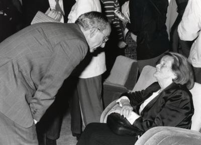 José Luis Yuste Grijalba y Geneviève Novaille. Exposición Georges Rouault