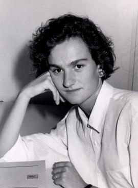 Berta Álvarez. Estudiante. Curso 1989-90, 1989