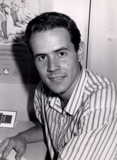 Antonio Zamora. Estudiante. Curso 1989-90